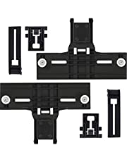[NEW] UPGRADED W10350376 Dishwasher Top Rack Adjuster & W10195839 Rack Adjuster & W10195840 Positioner by Blue Stars - Exact Fit for Whirlpool Kenmore Models - Enhance Durability with STEEL Screws