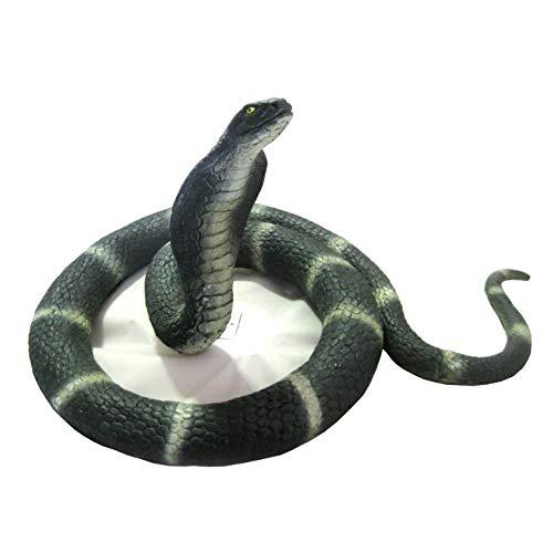 Ricks House Of Horror Realistic Cobra Snake Lifesize Prop 72