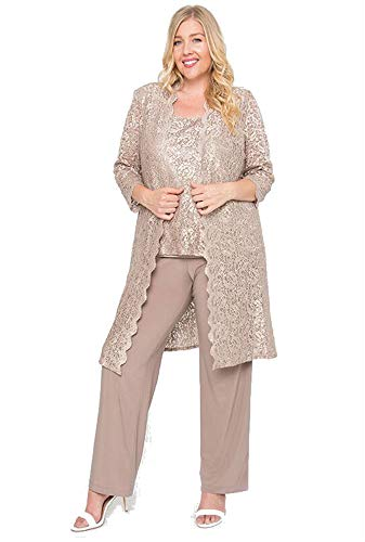 R&M Richards Mother of The Bride Plus Size Pant Suit