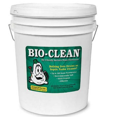 Bio Clean Drain Septic Bacteria (25lb Bulk) by Bio Clean