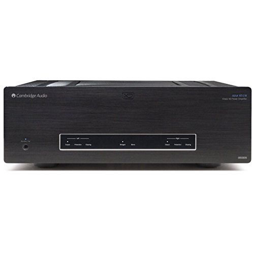 Cambridge Audio Azur 851W Class XD Flagship Power Amplifier in Black by Cambridge Audio