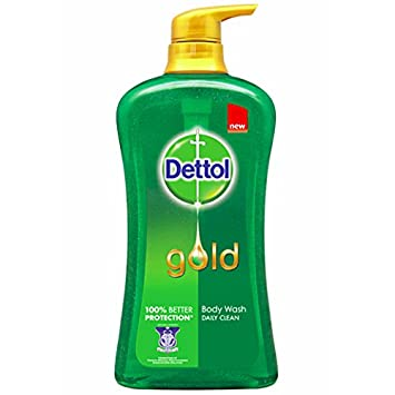 Dettol Gold Daily Clean PH Balanced Anti Bacterial Formula Shower Gel, 500ml
