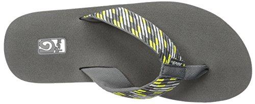 Teva Mush II TE.4168 - Chanclas para hombre Nitro gris / amarillo