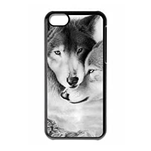 2 Wolves Phone Case For iPhone 6 plus 5.5'