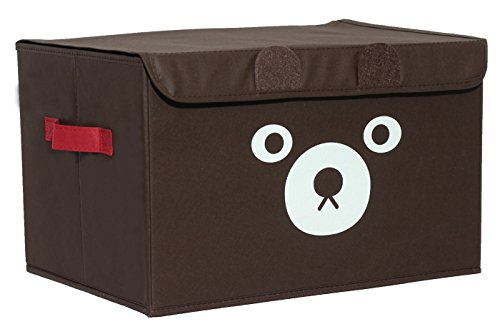 Small Storage Chest (Katabird Storage Bin for Toy Storage, Collapsible Chest Box Toys Organizer with Lid for Kids Playroom, Baby Clothing, Children Books, Stuffed Animal, Gift Baskets)