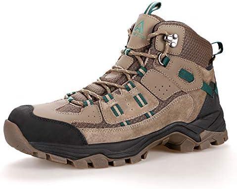 Men s Fur Lined Hiking Boots Winter Warm Water Repellent Outdoor Sport Shoes Walking