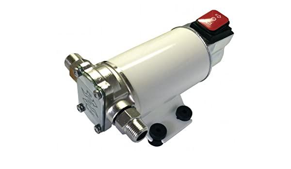 Enginegear 2 GPM Gear Pump 24V For Motor Oil Diesel Fuel or Water Transfer