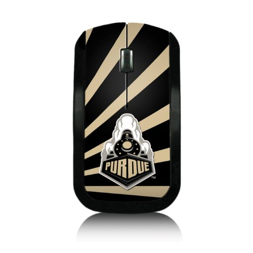 Purdue Boilermakers Wireless USB Mouse officially licensed by Purdue University Slim Sleek Low-Profile Portable by keyscaper®