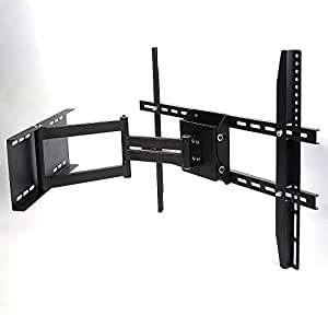Lumsing® Adjustable 17 24 29 32 37 39 40 42 49 50 55 60 inch LED LCD Plasma Flat Panel Screen TV Wall Bracket Mount Tilt Swivel Articulating Full Motion by Lumsing