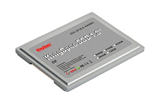 256GB KingSpec 1.8-inch ZIF 40-pin SSD Solid State Disk SMI Controller - Solid Drive Pata State