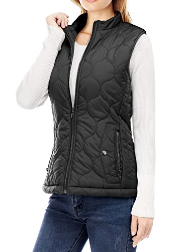 Quilted Side Zip Vest - 6