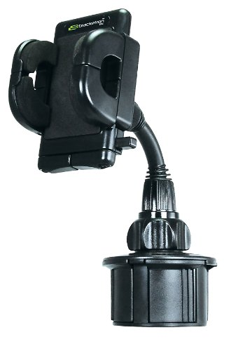 Bracketron Cup-iT Universal Golf Cart Cup Holder Mount with Grip-iT
