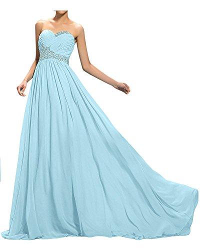 91a194f2acc7 La mia Braut Elegant Gruen Lang Abendkleider Ballkleider  Abschlussballkleider Jugendweihe Kleider Mit Pailletten Perlen Neu Himmel  Blau