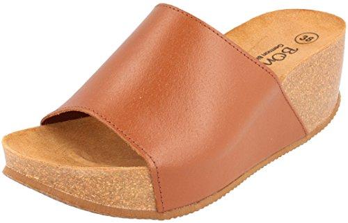 BONOVAEngage - Zapatos de Tacón Mujer naturaleza