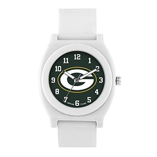NFL Green Bay Packers Mens Fan Series Wrist Watch, White, One Size