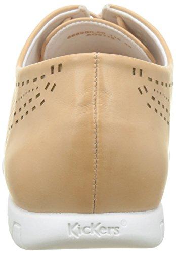 Zapatos De Cordones Mujer Beige chair Brogue Becki Kickers 115 Para BSwqHw5