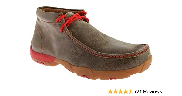 66e58939d7610 Amazon.com: Twisted X Men's and Driving Mocs: Sports & Outdoors