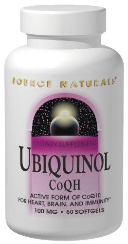Source Naturals Ubiquinol CoQh 100mg, 60 Capsules