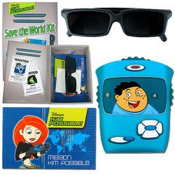 Trademark Global 72-0146, Disney's Kim Possible Top Secret Spy Kit