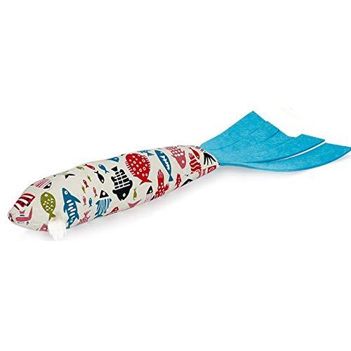 V2AMZ - Sleeping Cushion Fun Toy Cat Mint Catnip Toys Gadget Artificial Fish Plush Pet Cat Puppy Dog -