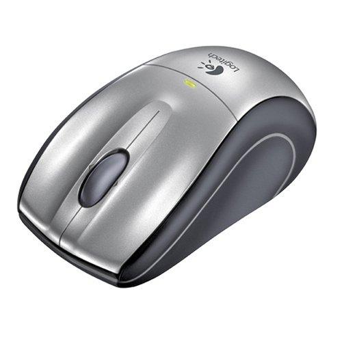 276e693426d Amazon.com: Logitech V320 Cordless Optical Mouse for Notebooks- Grey:  Electronics