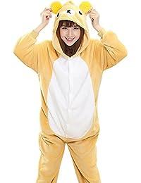 Betusline Cute Sleepsuit Costume Cosplay Homewear Animal Pattern Onesie Pajamas