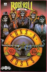 Rock 'n' Roll Comics 1, June 1989 - Guns 'n' Roses