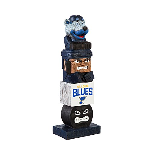 Team Sports America St Louis Blues Tiki Team Totem Outdoor Safe Garden Statue For Sale