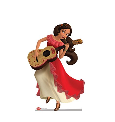 Elena with Guitar - Disney's Elena of Avalor - Advanced Graphics Life Size Cardboard Standup (Guitar Cutouts)