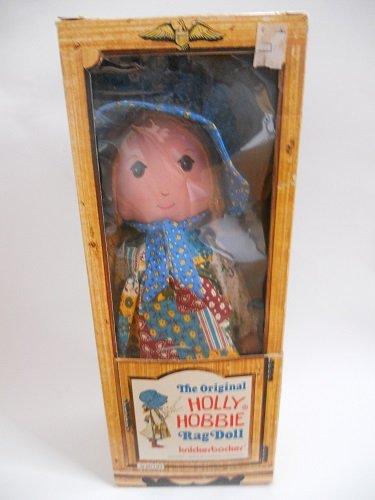 "16"" Vintage Holly Hobbie Knickerbocker Rag Doll"
