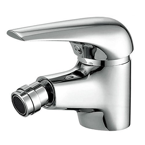 (Joyway Bidet Faucet with Single Hole-Solid Brass Ceramic Valve Bidet Toilet Attachment for Hot and Cold Water (Chrome))
