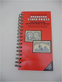 Brookman Stamp Prices United States Nations Canada Spiral Bound 1993