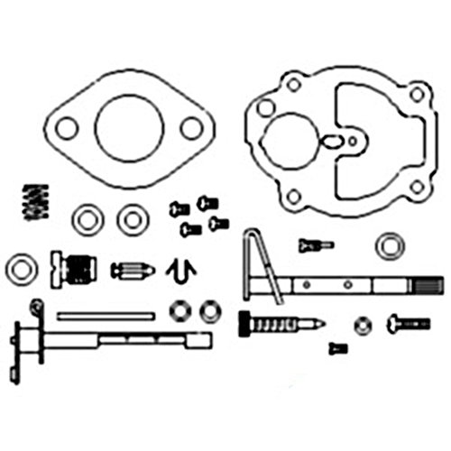 Amazon Com Zck25 New Carburetor Kit Made To Fit Allis Chalmers Ac