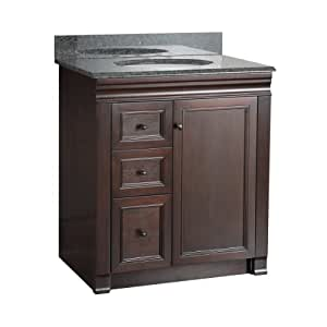 Foremost SHEA3021DL Shawna 30-Inch Bath Vanity with Left ...
