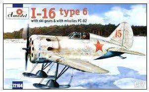 POLIKARPOV I-16 TYPE 6 SOVIET FIGHTER 1//72 AMODEL 72164