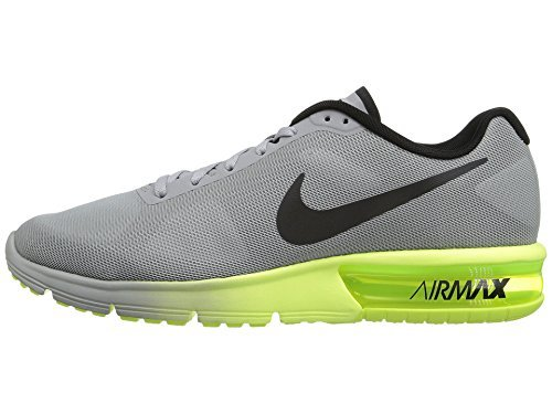 online store 47488 82b3e Galleon - Nike Men Air Max Sequent Running Shoes (9 D(M) US, Wolf  Grey Black Volt)