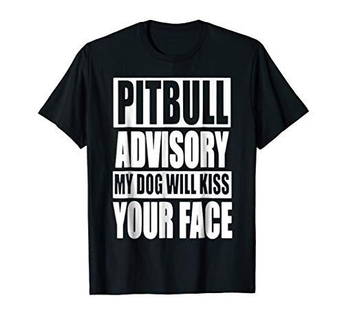 - Mens Pitbull Shirt - Pitbull Advisory T shirt XL Black