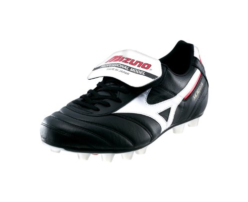 Morelia Moulded FG Football Boots - Black / White - size 5.5 UK