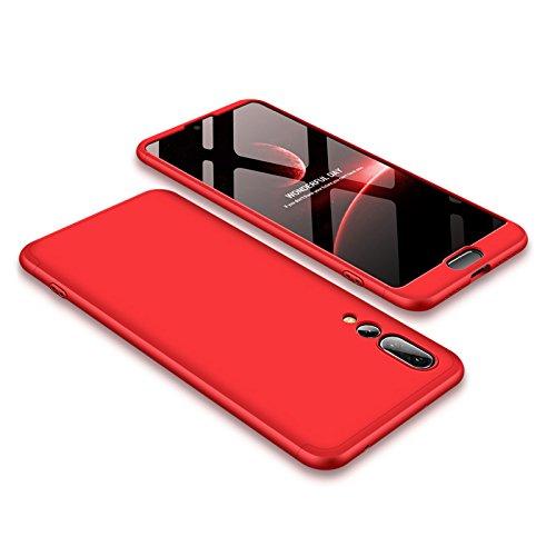 BCIT Huawei P20 Pro Funda Funda Huawei P20 Pro 360 Grados Integral para Ambas Caras + Cristal Templado, Luxury 3 in 1 PC Hard...