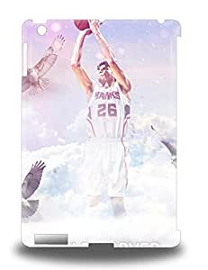 Tpu Ipad Shockproof Scratcheproof NBA Atlanta Hawks Kyle Korver #26 Hard Case Cover For Ipad Air