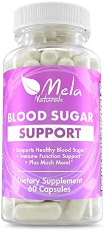 Premium Blood Sugar Support Herbal Supplement with 20 Effective Herbal Ingredients. Helps Weight Loss, Insulin Levels, Heart Health. Supports Sugar Absorption. Made in USA, FDA Approved Facility