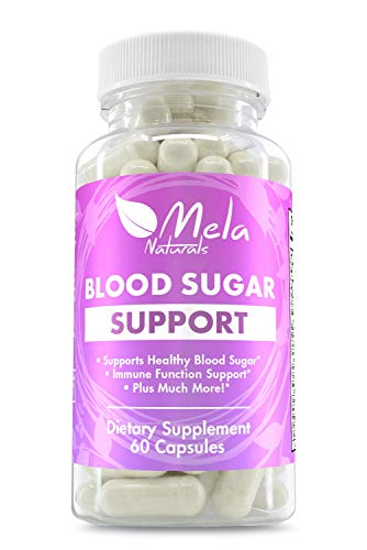 Premium Blood Sugar Support Herbal Supplement with 20 Effective Herbal Ingredients. Helps Weight Loss, Insulin Levels, Heart Health. Supports Sugar Absorption. Made in USA, FDA Approved Facility Review