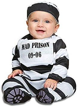 DISBACANAL Disfraz de preso Mad para bebé - -, 0-6 Meses: Amazon ...