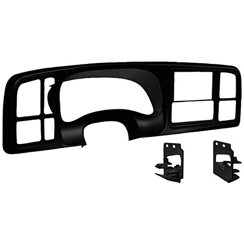 - 99 00 01 02 Silverado Sierra Suburban Yukon Tahoe Avalance Double Din Dash Kit Full Size Gm Truck Suv Car Stereo Radio Cd Dvd Nav Navigation Video Install Installation Bezel