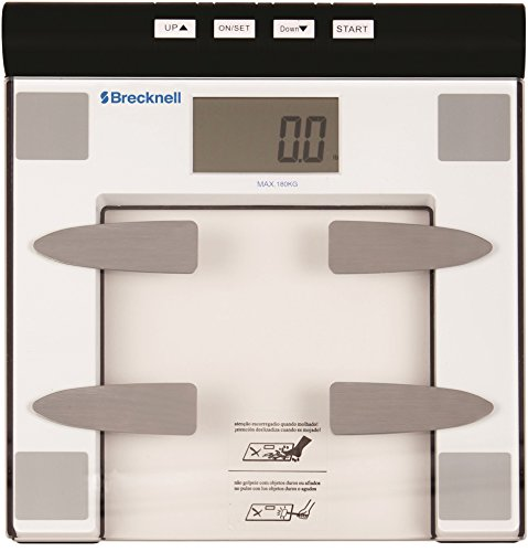 Salter Body Fat - Salter Brecknell BLBS-1313-396L BFS-150 Body Fat Scale, Abs Plastic Base