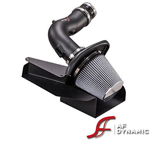 R&L Racing AF Dynamic Black Air Filter Intake System Heatshield 2011-2014 for Ford Edge 3.5L & Edge Sport 3.7L V6 (Edge Ford Air Intake)