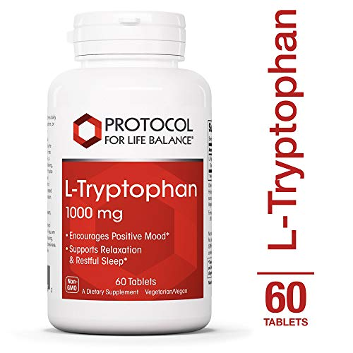 Protocol For Life Balance – L-Tryptophan 1,000 mg – Supports Relaxation, Encourages Positive Mood, and Promotes Restful Sleep While Providing Essential Nutrients – 60 Tablets Review