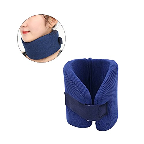 ROSENICE Neck Brace Collar Medical Neck Support Neck Guard for Neck and Shoulder Tension Size L (Dark (Ktm Neck Brace)