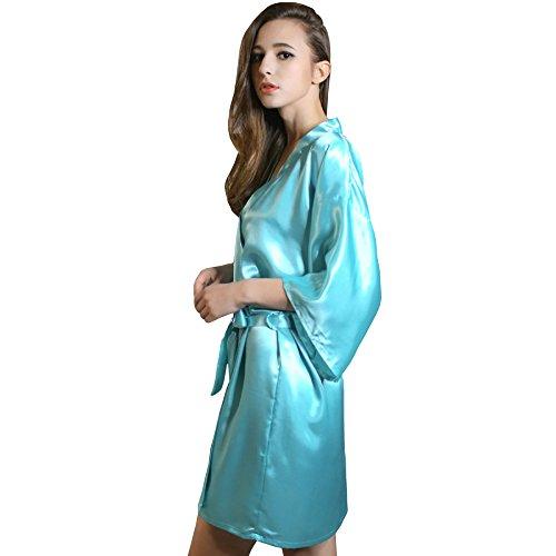 Nightdress Noble Lake Home FEI Lady blue Colore Blue Fei Sexy Accappatoio XXL Pyjamas Lake Fei dimensioni w6qCWI1xW