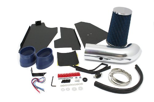 96 97 98 99 00 C/K 1500 / 2500 / 3500 V8 5.0L / 5.7L Heat Shield Intake Blue (Included Air Filter) #Hi-CH-3B
